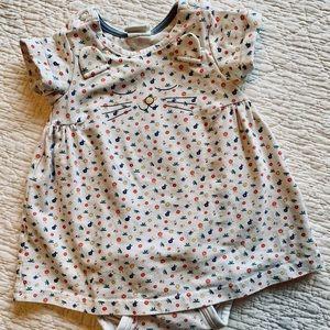 H&M kitty onesie dress